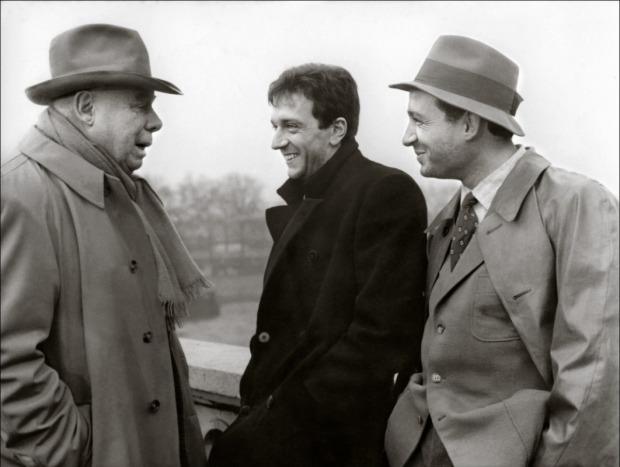Claude-Brasseur-Jean-Pierre-Cassel-Jean-Renoir-Caporal-Epingle-1962