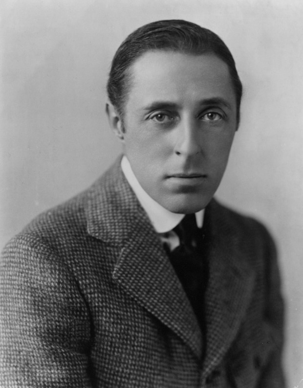 D.W. Griffith, ca. 1908.