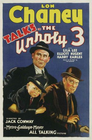 The-Unholy-Three-1930-poster