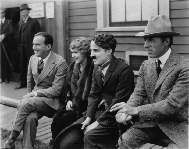 griffith-pickford-chaplin-fairbanks-united-artists