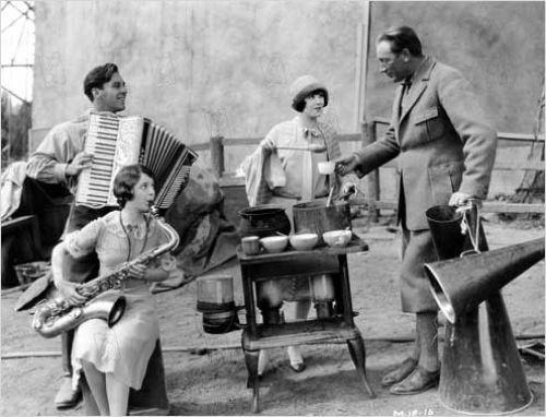Friedrich Wilhelm Murnau, George O'Brien, Janet Gaynor, Margaret Livingstone 2